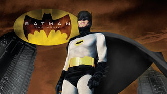 Netflix box art for Batman
