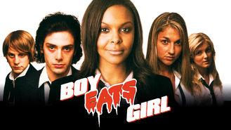 Netflix box art for Boy Eats Girl