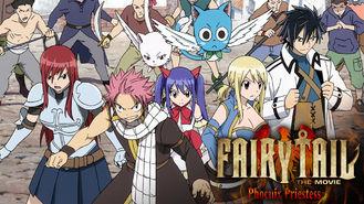 Netflix box art for Fairy Tail the Movie: Phoenix Priestess