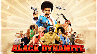Netflix box art for Black Dynamite