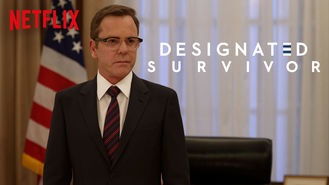 Netflix box art for Designated Survivor - Season 1