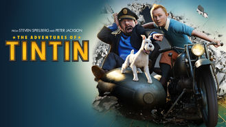 Netflix box art for The Adventures of Tintin