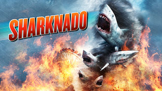 Netflix box art for Sharknado