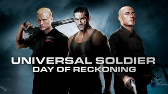 Netflix box art for Universal Soldier: Day of Reckoning