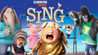Is Sing on Netflix Singapore?