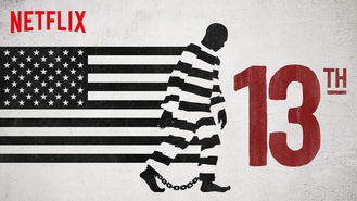 Netflix box art for 13TH