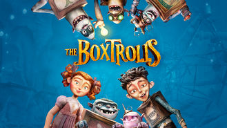 Netflix box art for The Boxtrolls