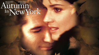 Netflix box art for Autumn in New York