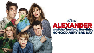 Netflix box art for Alexander and the Terrible...Very Bad Day