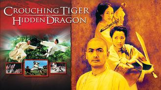 Netflix box art for Crouching Tiger, Hidden Dragon