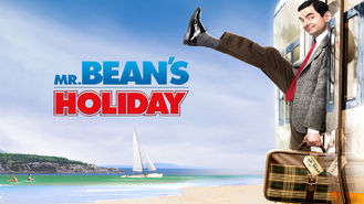 Netflix box art for Mr. Bean's Holiday