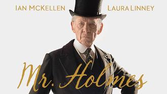 Netflix box art for Mr. Holmes