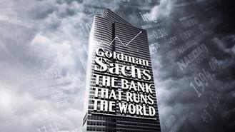 Netflix box art for Goldman Sachs: Bank That Runs the World