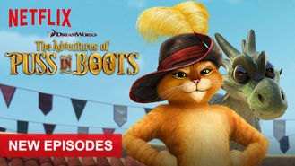 Netflix box art for The Adventures of Puss in Boots - Season 3