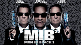 Netflix box art for Men in Black 3