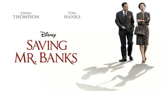 Netflix box art for Saving Mr. Banks