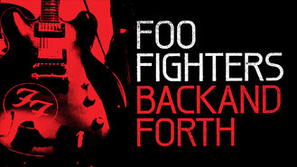 Netflix box art for Foo Fighters: Back and Forth