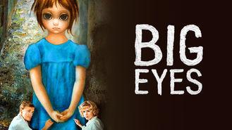 Netflix box art for Big Eyes