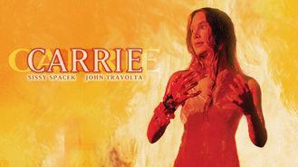 Netflix box art for Carrie