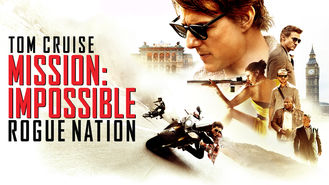 Netflix box art for Mission: Impossible 5