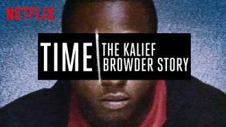 Netflix Box Art for Time: The Kalief Browder Story - Season 1