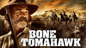 Netflix box art for Bone Tomahawk