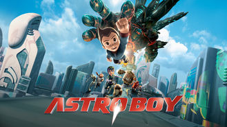 Netflix box art for Astro Boy
