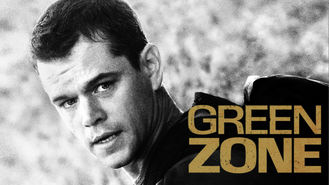Netflix box art for Green Zone