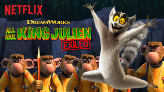 Netflix box art for All Hail King Julien: Exiled - Season 1