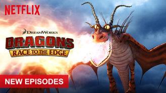 Netflix box art for Dragons: Race to the Edge - Season 3