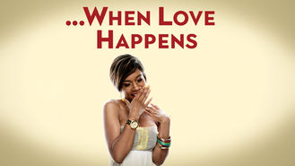 Netflix box art for When Love Happens