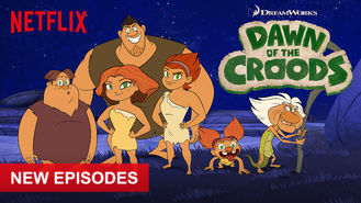 Netflix box art for Dawn of the Croods - Season 3