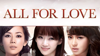 Netflix box art for All for Love
