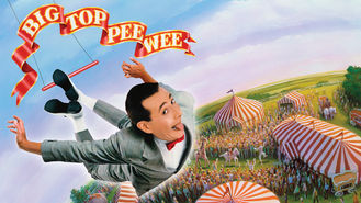 Netflix box art for Big Top Pee-wee