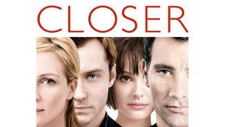 Netflix box art for Closer