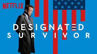 Netflix box art for Designated Survivor - Season 1