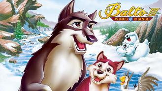 Netflix box art for Balto 3: Wings of Change