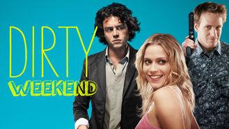 Netflix box art for Dirty Weekend