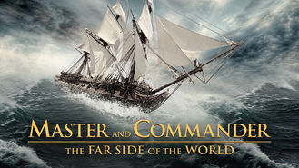 Netflix box art for Master and Commander