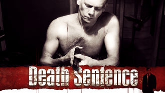 Netflix box art for Death Sentence
